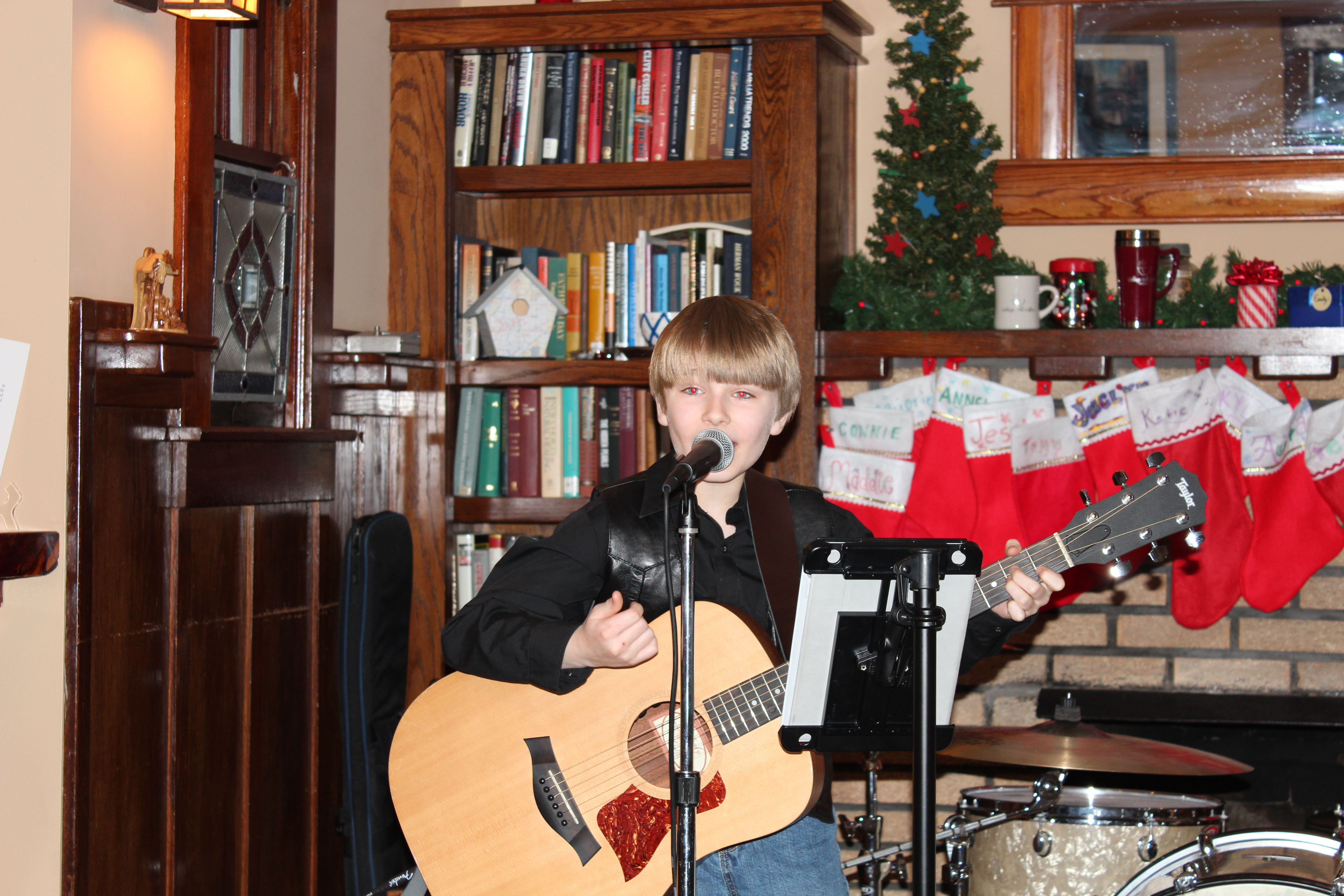 Carson plays College Hill Coffee House in Winfield