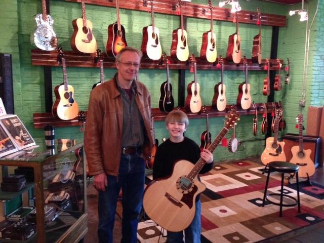 Taylor Who?  Ballard guitars rock!