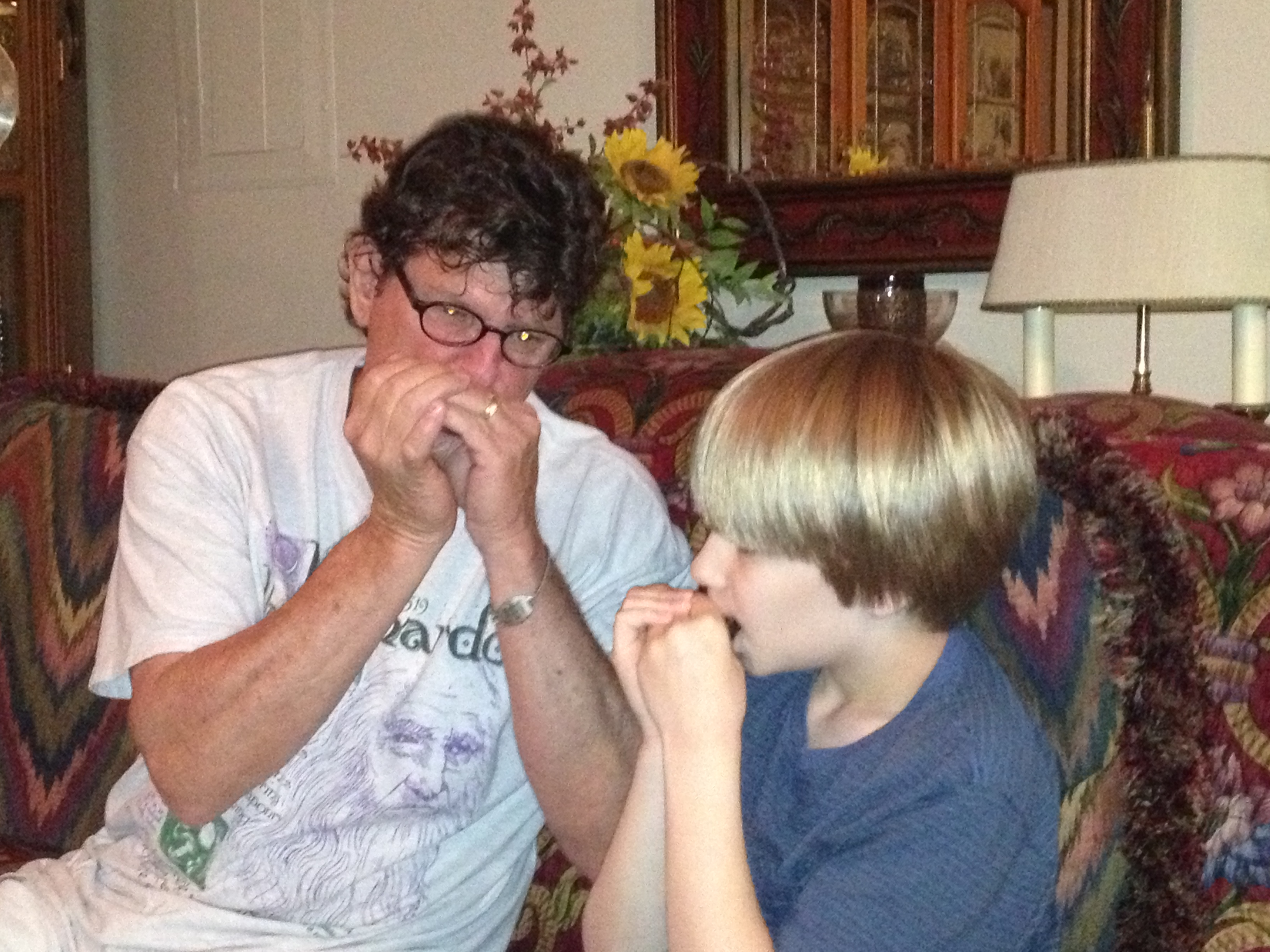 My First Harmonica Lesson with Craig Steward